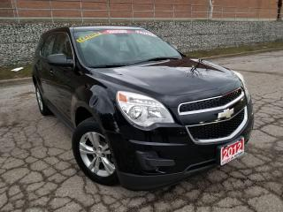 Used 2012 Chevrolet Equinox LS,LEATHER, ALLOY WHEELS, CERTIFIED for sale in Mississauga, ON
