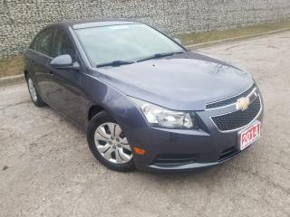 Used 2014 Chevrolet Cruze 1LT,CERTIFIED for sale in Mississauga, ON