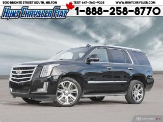 Used 2015 Cadillac Escalade PREMIUM   6.2L   4WD   SUN   CLEAN & MORE!!! for sale in Milton, ON