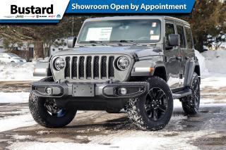 New 2021 Jeep Wrangler ALTITUDE UNLTD | NAV | LEATHER | 2 TOPS for sale in Waterloo, ON