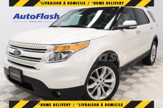 Used 2015 Ford Explorer LIMITED 3.5L *PARK-ASSIST* GPS/CAMERA *TOIT-PANO for sale in Saint-Hubert, QC