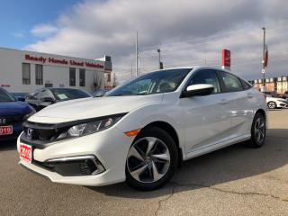 Used 2019 Honda Civic Sedan LX  - Bluetooth - Rear Camera - Heated Seats for sale in Mississauga, ON