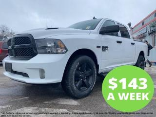 New 2021 RAM 1500 Classic Night Edition | Sub Zero | Hitch | Tonneau | Side for sale in Mitchell, ON