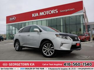 Used 2015 Lexus RX 350 CLEAN CARFAX | LTHR | NAV | ROOF | BU CAM |82,599K for sale in Georgetown, ON