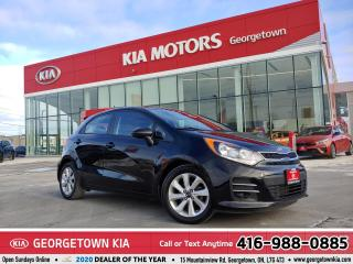 Used 2017 Kia Rio 5-Door EX+ ROOF| CLN CARFX | BU CAM | BT | HTD SEATS |67K for sale in Georgetown, ON