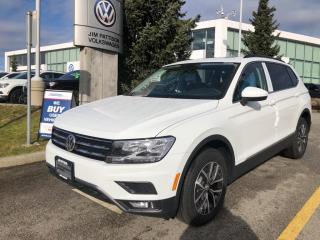 New 2021 Volkswagen Tiguan COMFORTLINE for sale in Surrey, BC