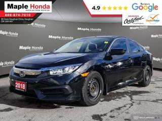 Used 2018 Honda Civic LX| Apple Car Play| Android Auto| Rear View Camera for sale in Vaughan, ON