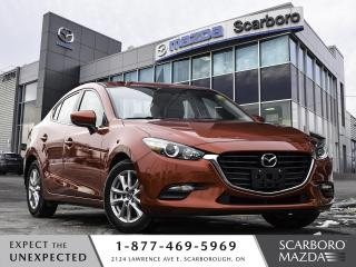 Used 2017 Mazda MAZDA3 HEATED LEATHER SEATS | REAR CAMERA | 1 OWNER for sale in Scarborough, ON