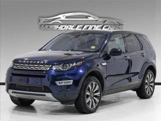 Used 2017 Land Rover Discovery Sport 7 Passenger, HUD, Navi, Camera, Panoramic, Loaded for sale in Concord, ON
