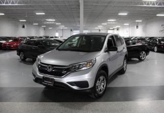 Used 2016 Honda CR-V LX NO ACCIDENTS I REAR CAM I HEATED SEATS I POWER OPTIONS for sale in Mississauga, ON
