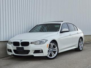 Used 2016 BMW 3 Series RED INTERIOR|M SPORT| WE FINANCE for sale in Mississauga, ON