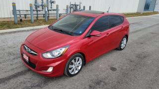 Used 2014 Hyundai Accent 5DR HB for sale in Mississauga, ON