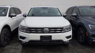 New 2021 Volkswagen Tiguan United 2.0T 8sp at w/Tip 4M for sale in Coquitlam, BC