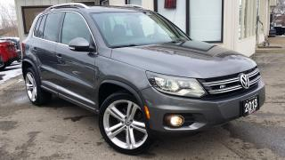 Used 2013 Volkswagen Tiguan HIGHLINE R-LINE - LEATHER! NAV! BACK-UP CAM! PANO ROOF! for sale in Kitchener, ON