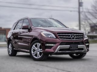 Used 2014 Mercedes-Benz ML-Class ML350 BlueTEC | NAV |BACKUP|PANOROOF |B.SPOT|LOADED for sale in North York, ON