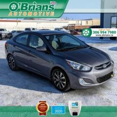 Used 2015 Hyundai Accent GLS w/Heated Seats, Backup Camera, Air Conditioning for sale in Saskatoon, SK