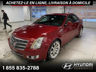 Used 2009 Cadillac CTS AWD + GARANTIE + NAVI + TOIT PANO + WOW for sale in Drummondville, QC