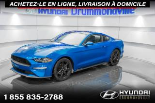 Used 2019 Ford Mustang PREMIUM + GARANTIE + CAMERA + LIPS + WOW for sale in Drummondville, QC