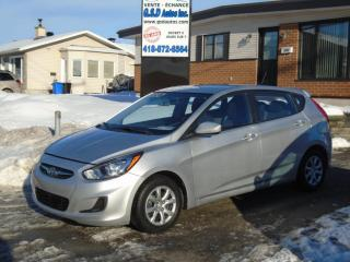 Used 2013 Hyundai Accent GL for sale in Ancienne Lorette, QC