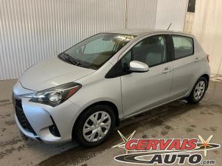 Used 2019 Toyota Yaris Hatchback LE Caméra A/C Sièges Chauffants Bluetooth *Transmission Automatique* for sale in Trois-Rivières, QC