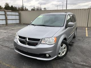 Used 2015 Dodge Grand Caravan Crew for sale in Cayuga, ON