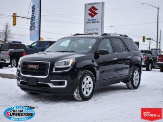 Used 2015 GMC Acadia SLE AWD ~7 Passenger ~Backup Camera ~Bluetooth for sale in Barrie, ON