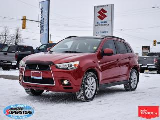 Used 2011 Mitsubishi RVR GT AWD ~Panoramic Roof ~Fog Lamps ~Alloy Wheels for sale in Barrie, ON