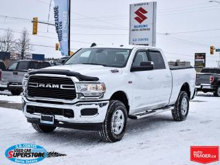 Used 2020 RAM 2500 Big Horn Crew Cab 4x4 ~6.4L HEMI ~8-Speed ~Camera for sale in Barrie, ON