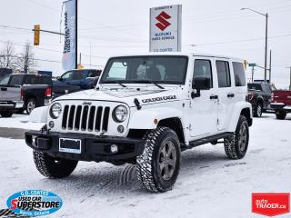 Used 2018 Jeep Wrangler Golden Eagle 4x4 ~Hard/Soft Tops ~ONLY 19,000 KM! for sale in Barrie, ON
