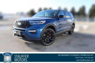 New 2021 Ford Explorer ST for sale in Tillsonburg, ON