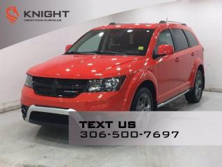 Used 2017 Dodge Journey Crossroad AWD | Leather | Sunroof | DVD | for sale in Regina, SK