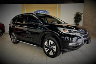 Used 2016 Honda CR-V TOURING - AWD - CUIR/TOIT/GPS - WOW for sale in Drummondville, QC