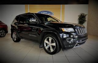 Used 2015 Jeep Grand Cherokee OVERLAND - CUIR/TOIT/GPS - 20'' - WOW for sale in Drummondville, QC