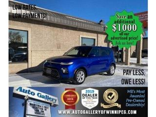 Used 2020 Kia Soul EX* Heated Seats/Apple CARPLAY/REMOTE START for sale in Winnipeg, MB