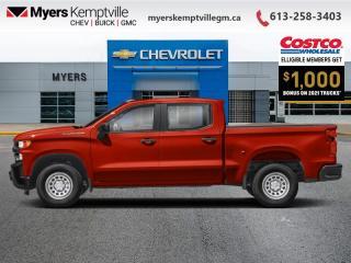 New 2021 Chevrolet Silverado 1500 Work Truck for sale in Kemptville, ON