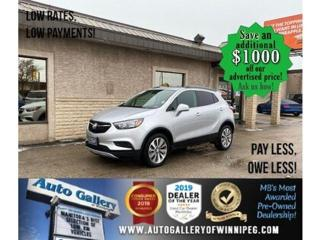 Used 2019 Buick Encore Preferred* B.cam/B.tooth/SUNROOF/Low Kms for sale in Winnipeg, MB