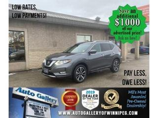 Used 2019 Nissan Rogue SL* Awd/Nav/Pano/Htd seats for sale in Winnipeg, MB