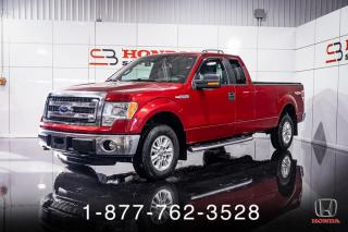 Used 2013 Ford F-150 XLT + 5.0L + 4X4 + BOITE 8' + MAGS + WOW for sale in St-Basile-le-Grand, QC