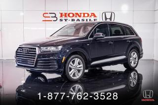 Used 2017 Audi Q7 3.0T + TECHNIK + S-LINE + NAVI + MAGS + for sale in St-Basile-le-Grand, QC