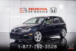 Used 2013 Volkswagen Golf R R + AWD + MANUEL + CUIR + TOIT + MAGS + for sale in St-Basile-le-Grand, QC