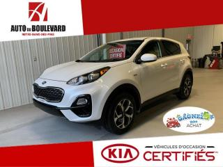 Used 2020 Kia Sportage LX AWD TOUT EQUIPE APPLE ANDROID for sale in Notre-Dame-des-Pins, QC