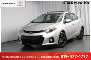 Used 2016 Toyota Corolla S| GROUPE AMÉLIORÉ| AUTOMATIQUE for sale in Drummondville, QC