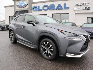 Used 2017 Lexus NX 200t Base for sale in Ottawa, ON