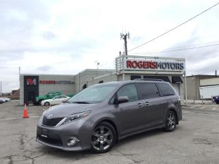 Used 2015 Toyota Sienna SE - 8 PASS - NAVI - DVD - SUNROOF - LEATHER for sale in Oakville, ON