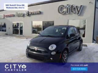 Used 2015 Fiat 500 Sport for sale in Medicine Hat, AB