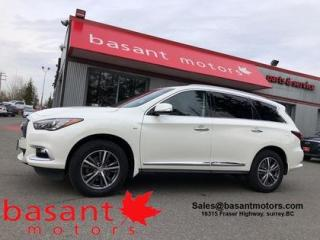 Used 2016 Infiniti QX60 Leather, 7 Passenger, Sunroof, Heated Seats!! for sale in Surrey, BC