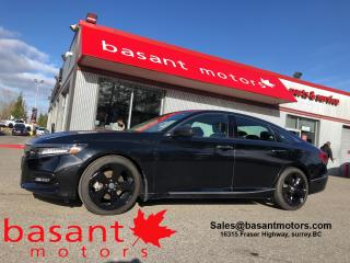 Used 2018 Honda Accord Sedan Touring 2.0, Nav, Sunroof, Driver Assists! for sale in Surrey, BC