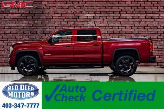 Used 2018 GMC Sierra 1500 4x4 Crew Cab SLT All Terrain Leather Roof Nav for sale in Red Deer, AB