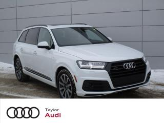 Used 2018 Audi Q7 3.0T Technik LOW KM, DRIVER ASSIST PKG, S LINE PKG for sale in Regina, SK
