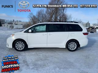 Used 2018 Toyota Sienna 5DR LE 8-PASS FWD  - Heated Seats for sale in Steinbach, MB
